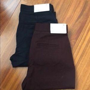 Uniqlo women pointe slim pant bundle